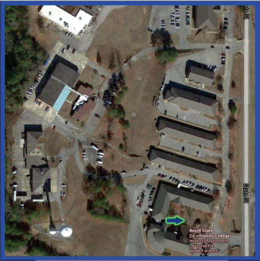 Photo of Sumiton Campus Free Speech Area - Building 1200 Courtyard